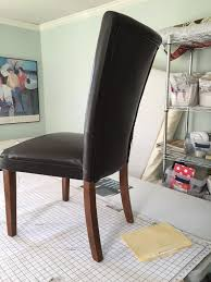 at my customer s request i used dropcloths for this set of four dining chairs i bought them at lowe s and used the 10 oz weight the entire project took one
