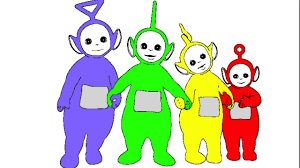 Small Picture Learn Colours For Children With Teletubbies Colouring Pages YouTube