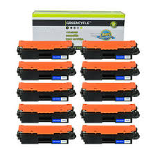 Cartridge save 17a toner comes in black; Greencycle 20pk Cf217a 17a Toner Cartridges W Chip For Hp Laserjet M102w Mfp M130a M130nw
