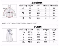 Womens Ski Size Chart Winter Impression Warm Womens Ski Suit