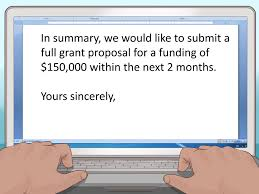 Write a Letter of Interest for a Grant Step 10