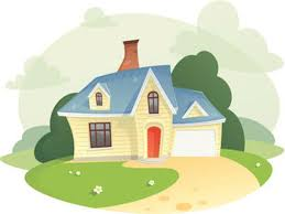 Image result for Cartoons of dream houses