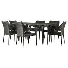 grove hill outdoor patio furniture dining sets pieces mercury row outdoor dining set grove hill outdoor