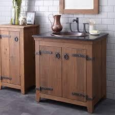 Dark Bathroom Vanity Reclaimed Wood Floating Bathroom Vanity Dark Brown Varnished