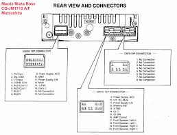mazda car radio stereo audio wiring diagram autoradio connector steering wheel controls
