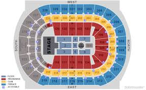 Amalie Arena Tampa Concert Seating Chart Elcho Table