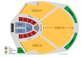 Chastain Park Amphitheatre Seating Chart 2016 Chastain Park Amphitheater Concert Schedule The