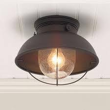 Light Fixtures For Low Ceilings this traditional inspired schoolhouse  ceiling fitting is perfect for use in
