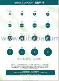 Button Size Chart Button Size Chart Buy Buttons Product On Alibaba Com