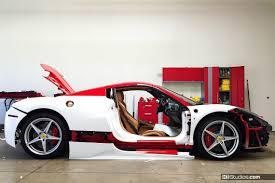 car wrap vs paint ferrari 458 spider wrap process