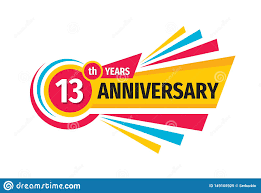 Image result for congratulations on 13 year anniversary