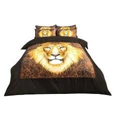 lion king bed sets animal printed lion king bedding set twin queen king size duvet cover