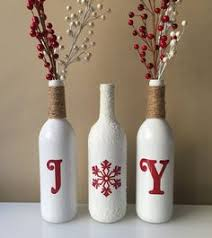 Decorating Wine Bottles For Christmas Tis the season A perfect addition to your holiday decor or a 2