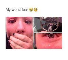 eyelash curler gone wrong. eyelash curler gone wrong o