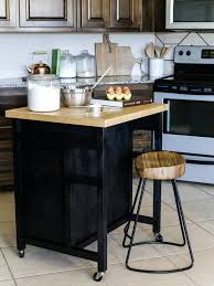 ... Kitchen Island, Zkitchen Island Carts On Wheels Solid Wood Top Kitchen  Cart With Wood Or ...
