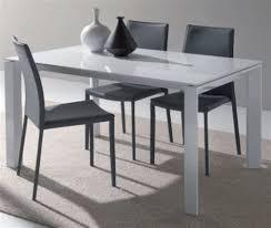 Table De Cuisine Moderne En Verre Speaking Roses