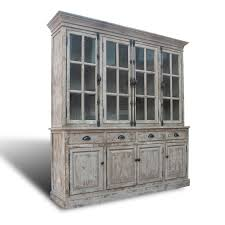 distressed white washed furniture. Reclaimed Pinewood English Hutch In Whitewashed Finish Distressed White Washed Furniture I