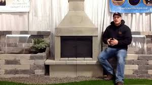 outdoor stone wood burning fireplace kits mirage stone outdoor fireplaces from the rusty shovel landscap on