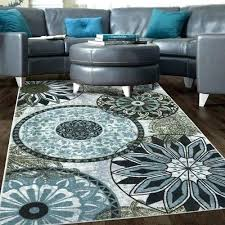 gray and brown area rug blue brown area rug new medallion nylon area rug gray blue