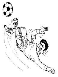 Kleurplaten Voetbal Messi