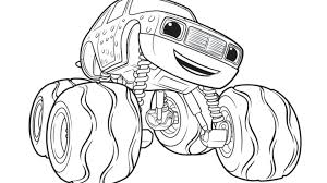 Blaze And The Monster Machines Coloring Pages Blaze Coloring Pages