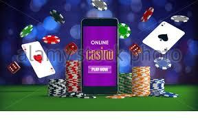 Sic Bo casino game background Stock Photo - Alamy