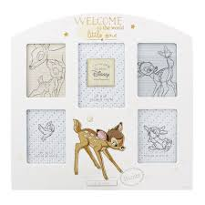 disney bambi new baby photo frame gift welcome to the world collage multi aperture picture frame