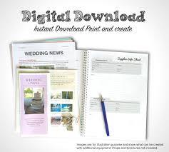 Printable Pink Wedding Planner Pdf Wedding Planning Book