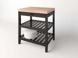 Wadholma Kitchen Table Island Ikea Free 3d Model In Kitchen