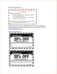 Coupon Templates Free Christmas Letter Templates Free Printable Word New 24 Microsoft Word 24
