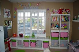 kids organization furniture. furnitureastonishing kids playroom organization ideas with brown painted wall and white wooden open shelves furniture t