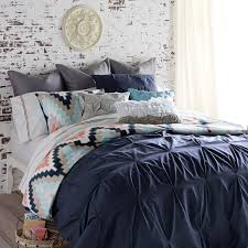 blissliving home harper navy full queen duvet set