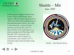 Image result for NASA's Shuttle-Mir program