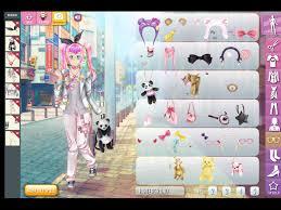manga lily dress up kaisergames play anese anime style make over princess game for