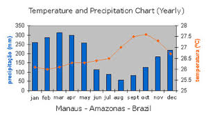 Rainforest Weather Chart Climate In The Amazon All About The Amazon Rainforest