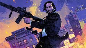 John Wick illustration, John Wick ...