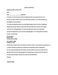 Sample of Adverse Action Letter pdf 309x400
