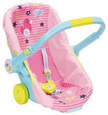 <b>Автокресло</b> Zapf Creation <b>Baby Born</b> сиденье-переноска (824-412 ...
