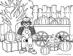 free printable scarecrow coloring pages thanksgiving scare crow page sheets turkey
