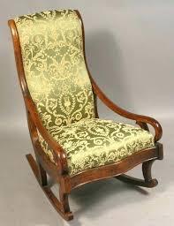 antique upholstered