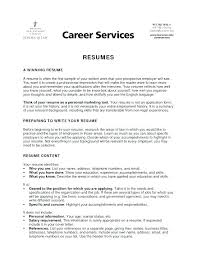 Resume For College Students Stunning Resume Examples College Athlete Fruityidea Resume
