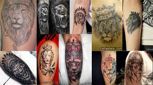 значение тату лев с короной клуб татуировки фото тату значения