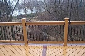 deck railing options pictures