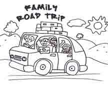 Small Picture road trip colouring pages Google Search road trippin