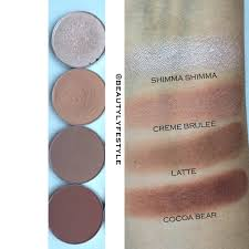 barcelona beach is my favorite shade in this row i love to use this as my crease shade