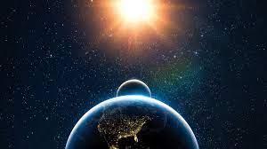 Earth, Moon, Sun, Solar system, 4k ...