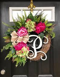summer wreaths for front doorSpring Wreath For Front Door  Best Home Furniture Ideas
