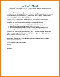 11 Nonprofit Cover Letter Emails Sample