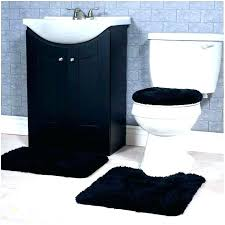 red and black bathroom rugs rug 3 piece set gray