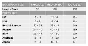 Size Guide Boobuddy